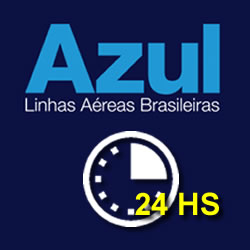24 horas azul